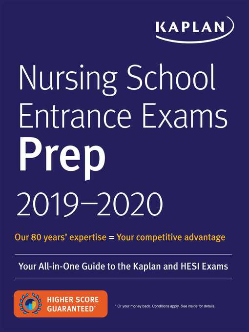 Nursing-School-Entrance-Exams-Prep-2019-2020---Your-All-in-One-Guide-to-the-Kaplan-and-HESI-Exams